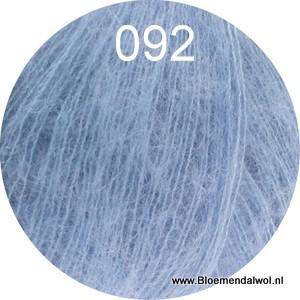 Silkhair uni melange 092