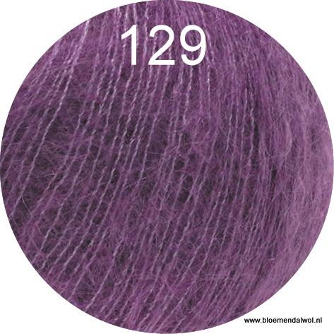 LANA GROSSA Silkhair uni melange 129