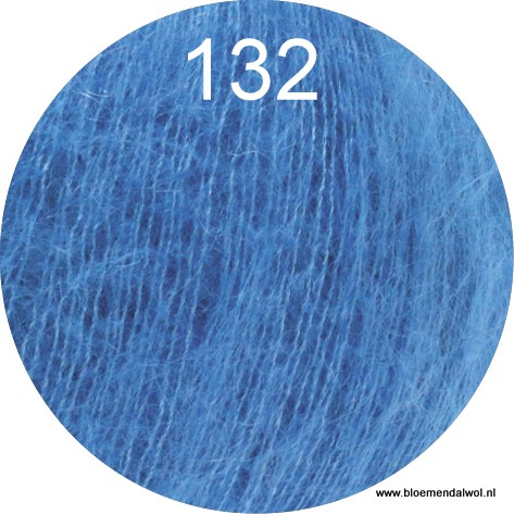LANA GROSSA Silkhair uni melange 132