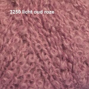 Alpaca Bouclé 3250 licht oud roze