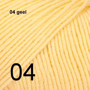 Baby Merino 04 geel