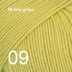 Baby Merino 09 lime groen