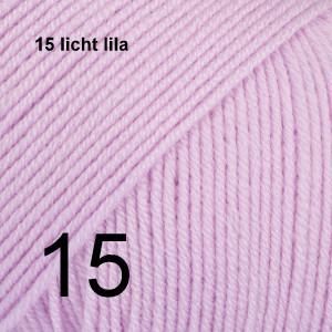 Baby Merino 15 licht lila