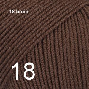 Baby Merino 18 bruin