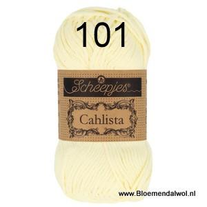 Scheepjes Cahlista 101