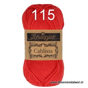 Scheepjes Cahlista 115