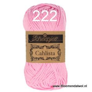 Scheepjes Cahlista 222