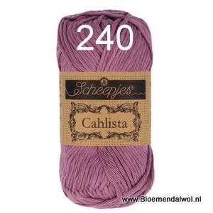 Scheepjes Cahlista 240