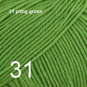 Baby Merino 31 pittig groen