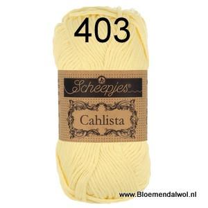 Scheepjes Cahlista 403