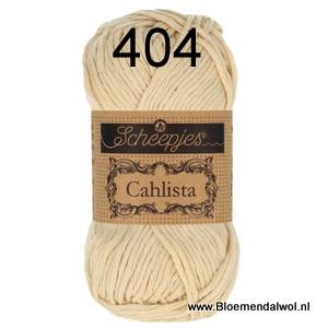 Scheepjes Cahlista 404