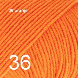 Baby Merino 36 oranje