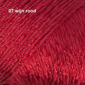 Cotton Viscose 07 wijn rood