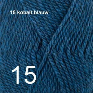 Alaska 15 kobalt blauw