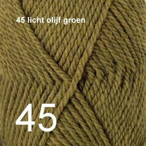 Alaska 45 licht olijf groen
