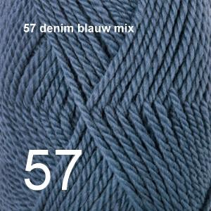 Alaska 57 denim blauw