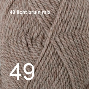 Alaska 49 licht bruin mix